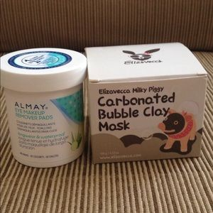 SPA DAY SET! Elizavecca mask and Almay remover! BN